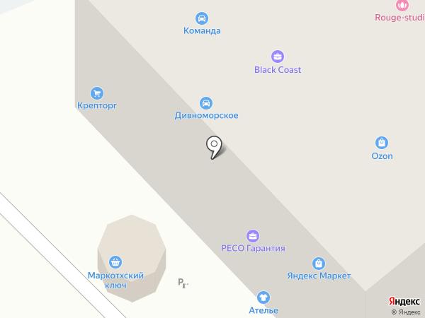 РЕСО-Гарантия, ОСАО на карте Геленджика