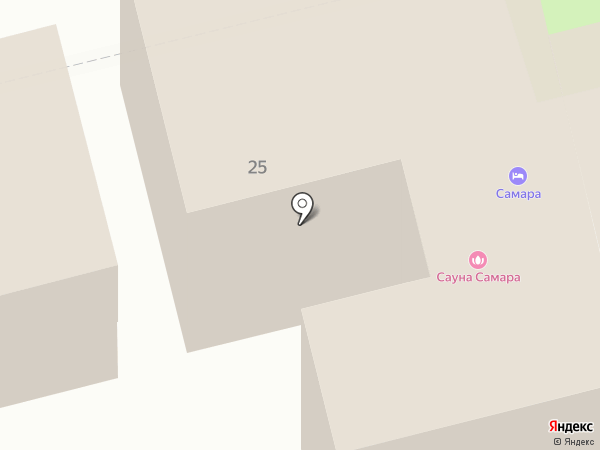 Самара на карте Геленджика