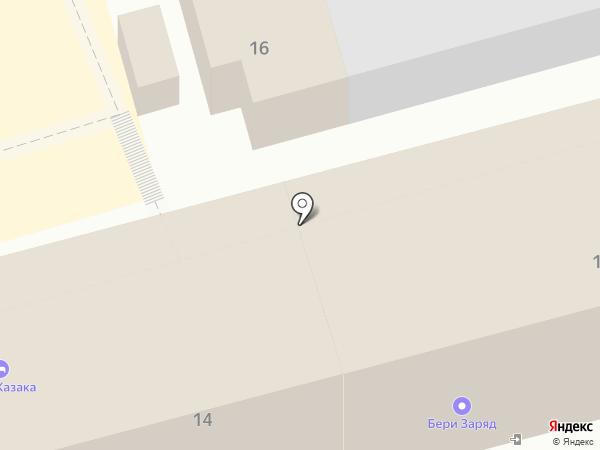 Эдем на карте Геленджика