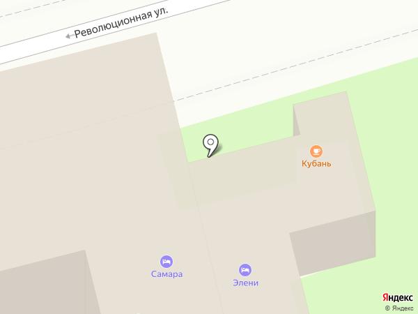 Элени на карте Геленджика
