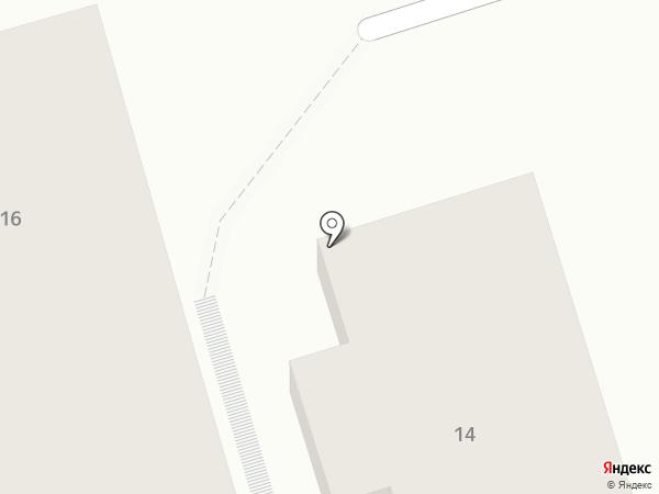 Приморская 14 на карте Геленджика