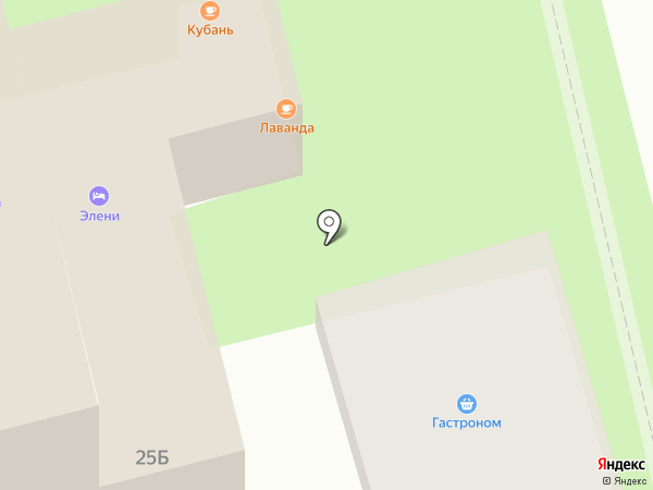 Пирожковая на карте Геленджика