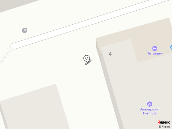 Петрович на карте Геленджика
