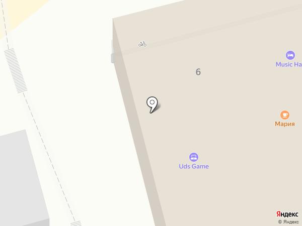 Манон на карте Геленджика