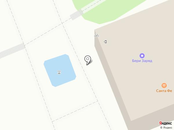 Санта-Фе на карте Геленджика