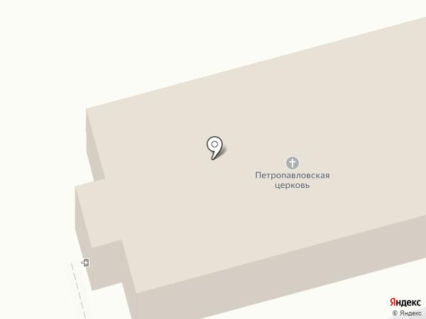 Храм Петра и Павла на карте Моспино