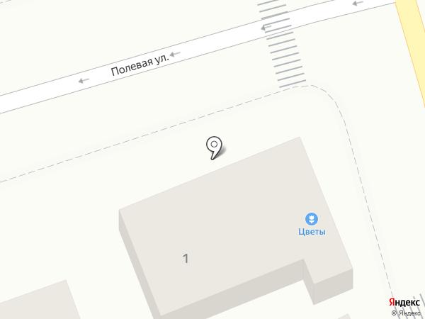 Магазин цветов на карте Геленджика