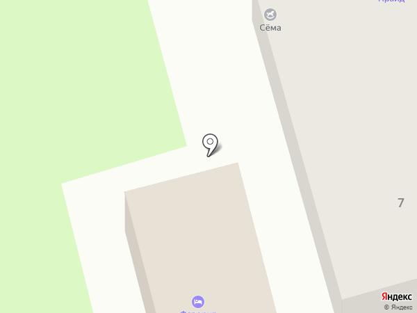Садхана на карте Геленджика