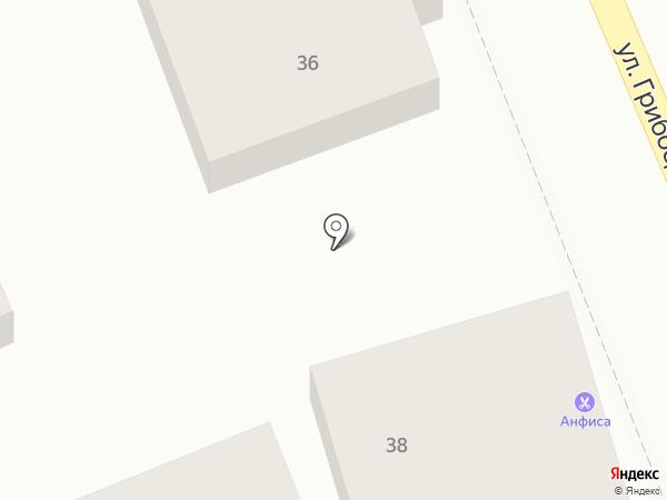 Корона на карте Геленджика