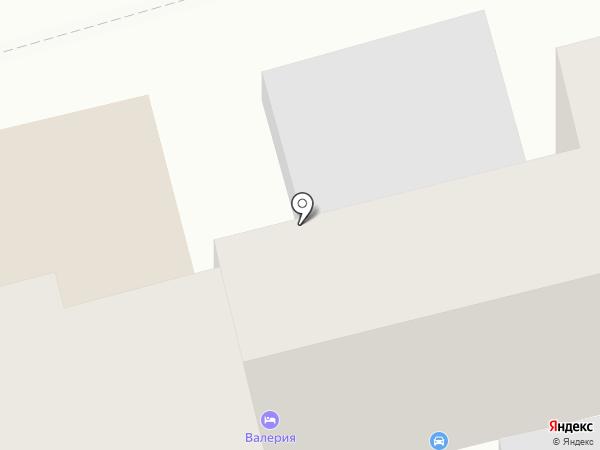 Валерия на карте Геленджика