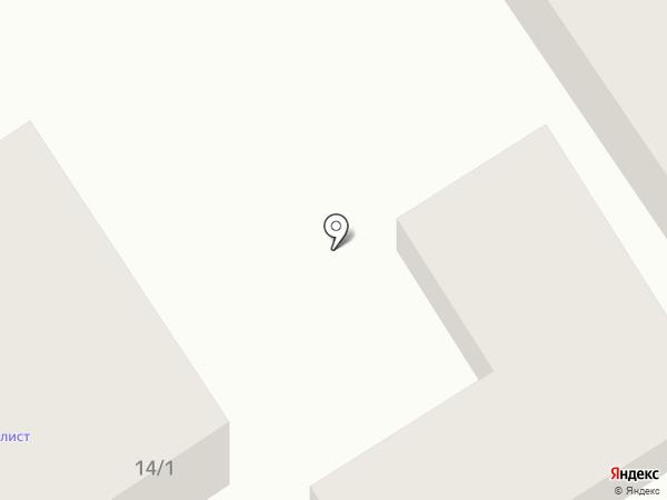 Кортеж на карте Геленджика