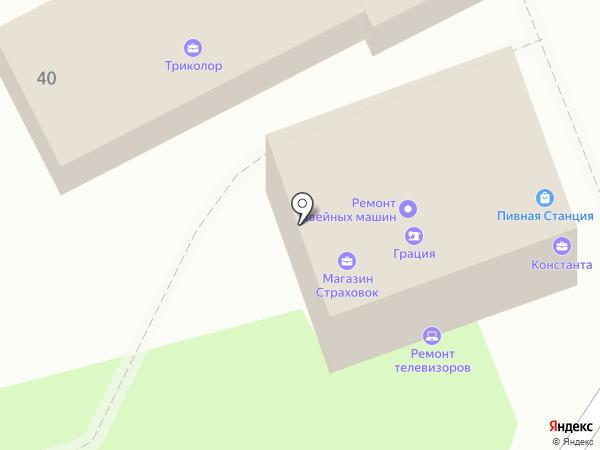 Ивановский трикотаж на карте Геленджика