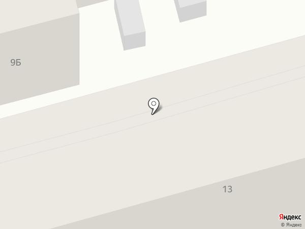 Эльфик на карте Геленджика