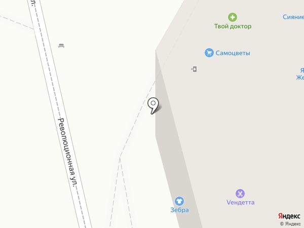 Эвант на карте Геленджика