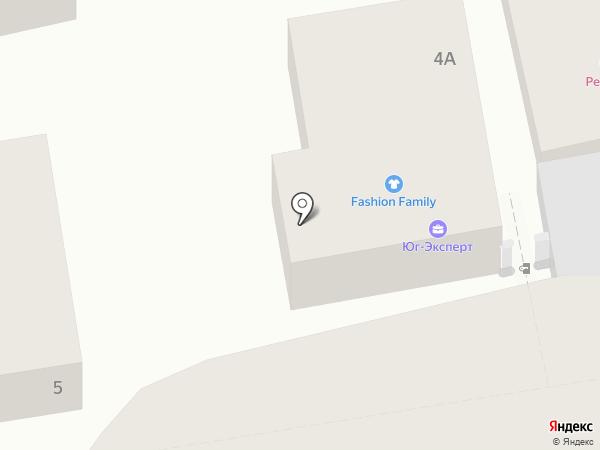 Юг-Эксперт на карте Геленджика
