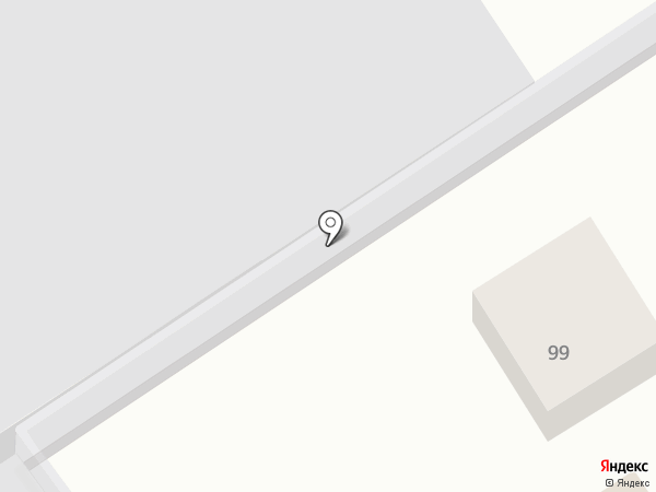 Шиномонтажная мастерская на ул. Луначарского на карте Геленджика