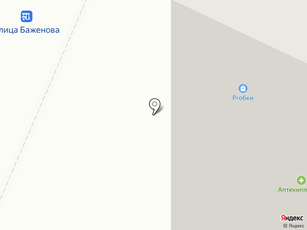 Торглайн на карте Жуковского