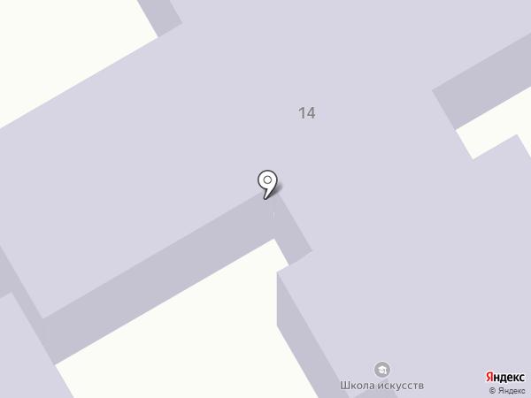 Библиотека №16 на карте Макеевки