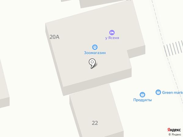 Гарант на карте Геленджика