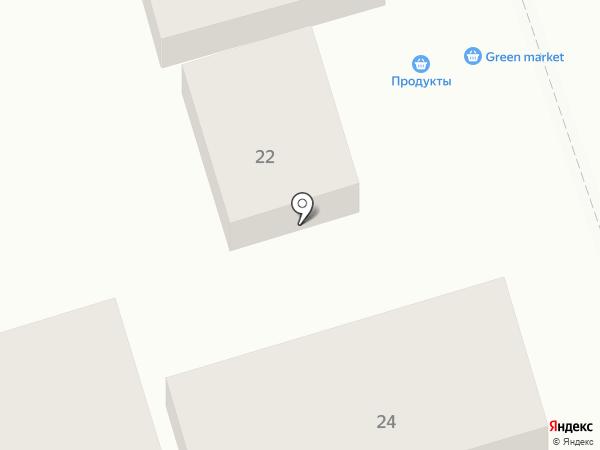 Фаворит-Юг на карте Геленджика