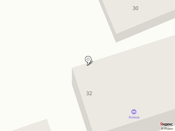 Олина на карте Геленджика