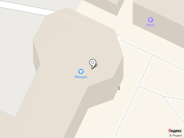 Бублик на карте Жуковского