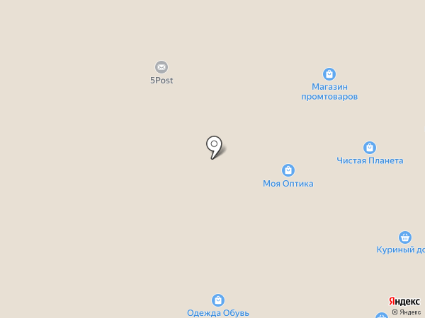 Анталь на карте Жуковского