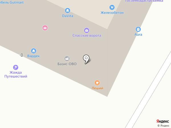 Константа-Мед на карте Жуковского