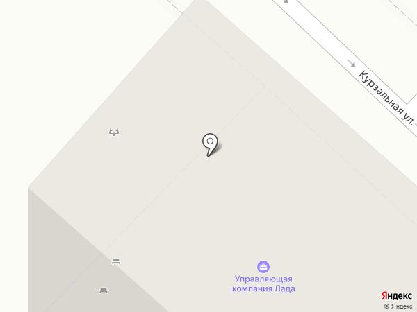 Белый Лотос на карте Геленджика