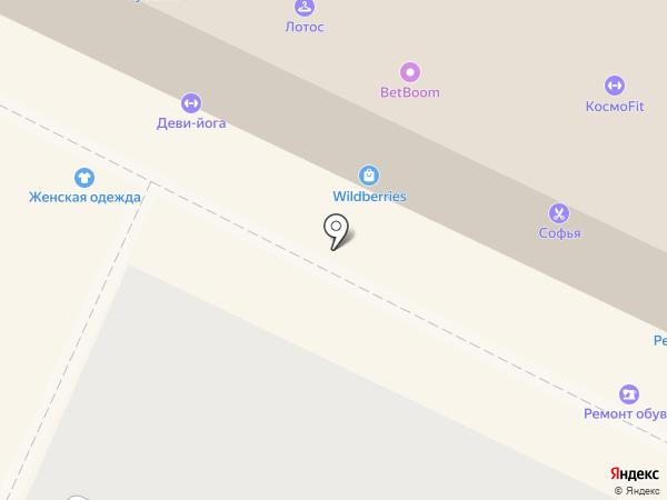 Карал на карте Жуковского