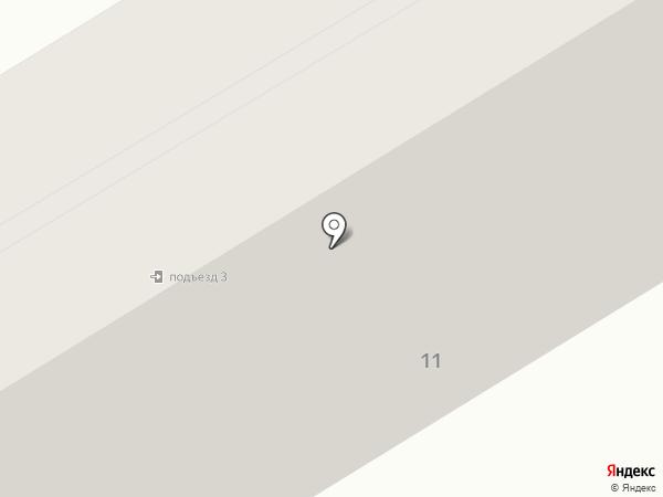 Камелия на карте Макеевки