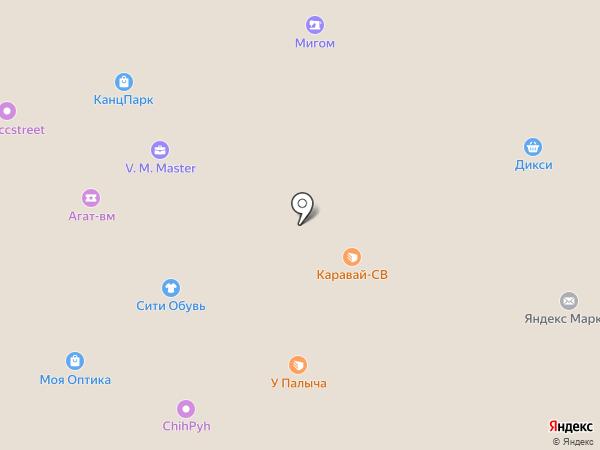 Тофа на карте Жуковского
