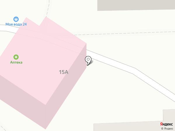 Паук на карте Балашихи