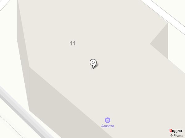 Сервис-ЮГ-ККМ на карте Геленджика
