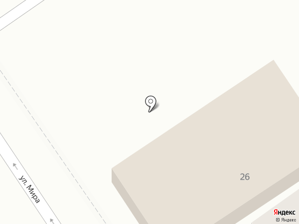 Пальмира на карте Геленджика