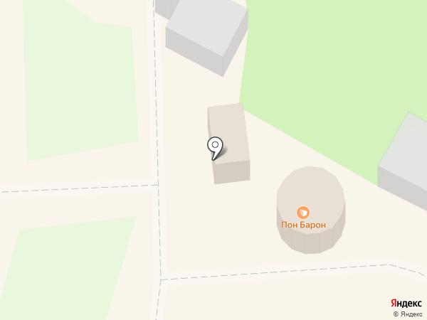 Пон Барон на карте Геленджика