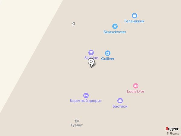 Золотой Овен на карте Геленджика