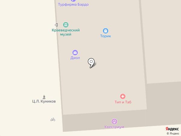 Юридическая компания на карте Геленджика