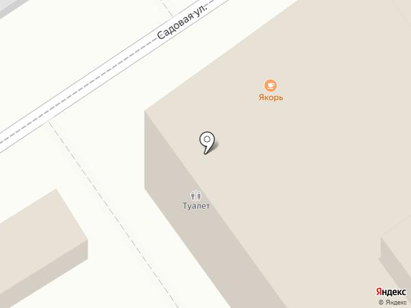 Плутос на карте Геленджика