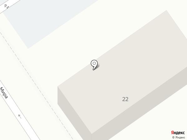 На мира на карте Геленджика