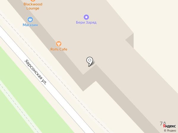 Паралия на карте Геленджика