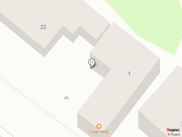 Компания по веломотопрокату на карте Геленджика