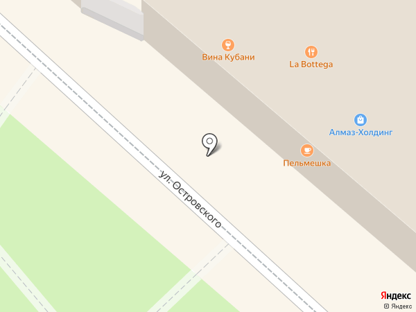 Ларец на карте Геленджика