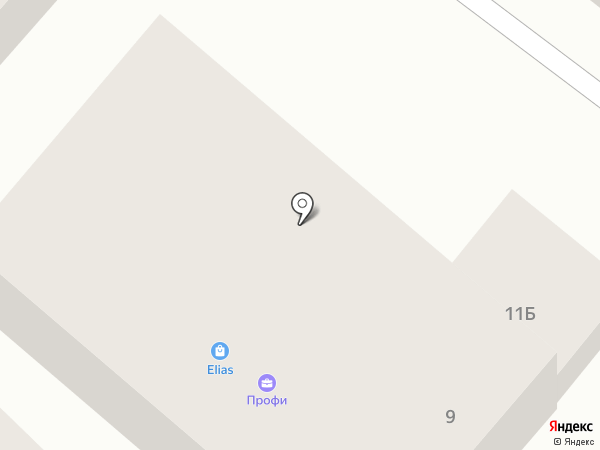 АНЭКС на карте Геленджика