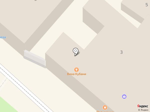 Самобранка на карте Геленджика
