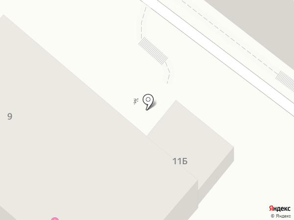 Тиара на карте Геленджика