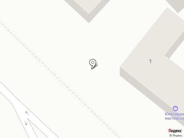 Ювелирная студия Анисимовых на карте Геленджика