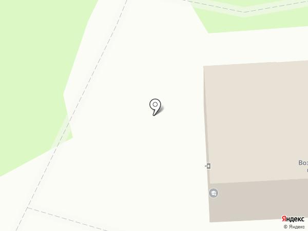 Церковь Вознесения Господня на карте Геленджика