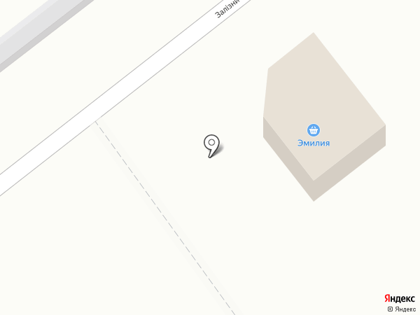 Эмилия на карте Макеевки