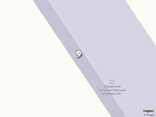 КубГУ на карте Геленджика